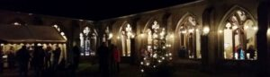 Adventlicher Stiftsberg Kyllburg @ Kreuzgang der Stiftskirche